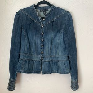 INC jean jacket